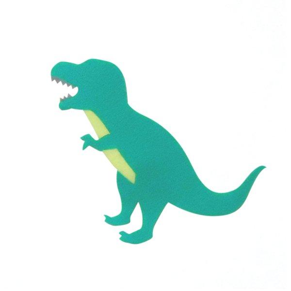 アイロン接着フェルトアップリケ<恐竜>