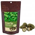 フェアトレード 緑茶チョコ×カシュー 35g【地球食/第3世界ショップ】