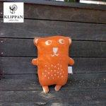 ぬいぐるみ カドリーベアズ<ファンニ>オレンジ【KLIPPAN】