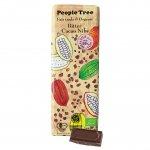 フェアトレード・板チョコレート オーガニック ビター・カカオニブ【People Tree/ピープルツリー】