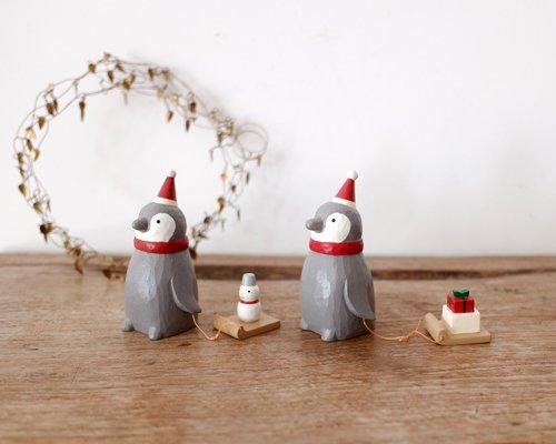 クリスマスペンギンサンタ