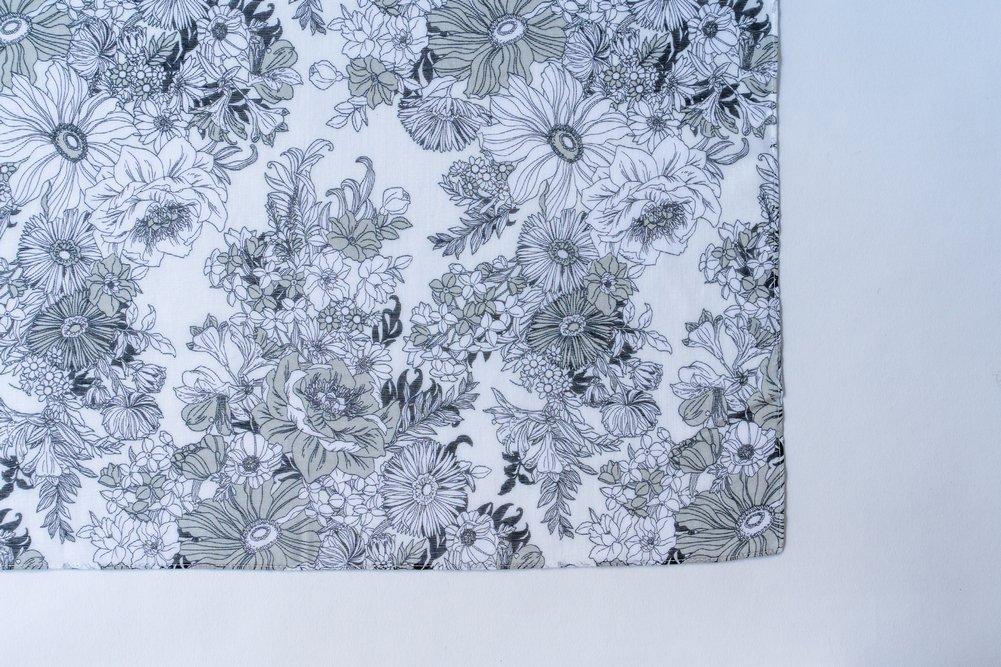Drawing ドレッシーフラワー ホワイト