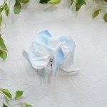 asaCorsage - 麻のコサージュ Gardenia ガーデニア<マリン>【&asa.co】Gar-BLU