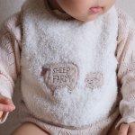 027333 オーガニックコットン・くしゅくしゅスタイ<いちご>BBAR02801【Solby】