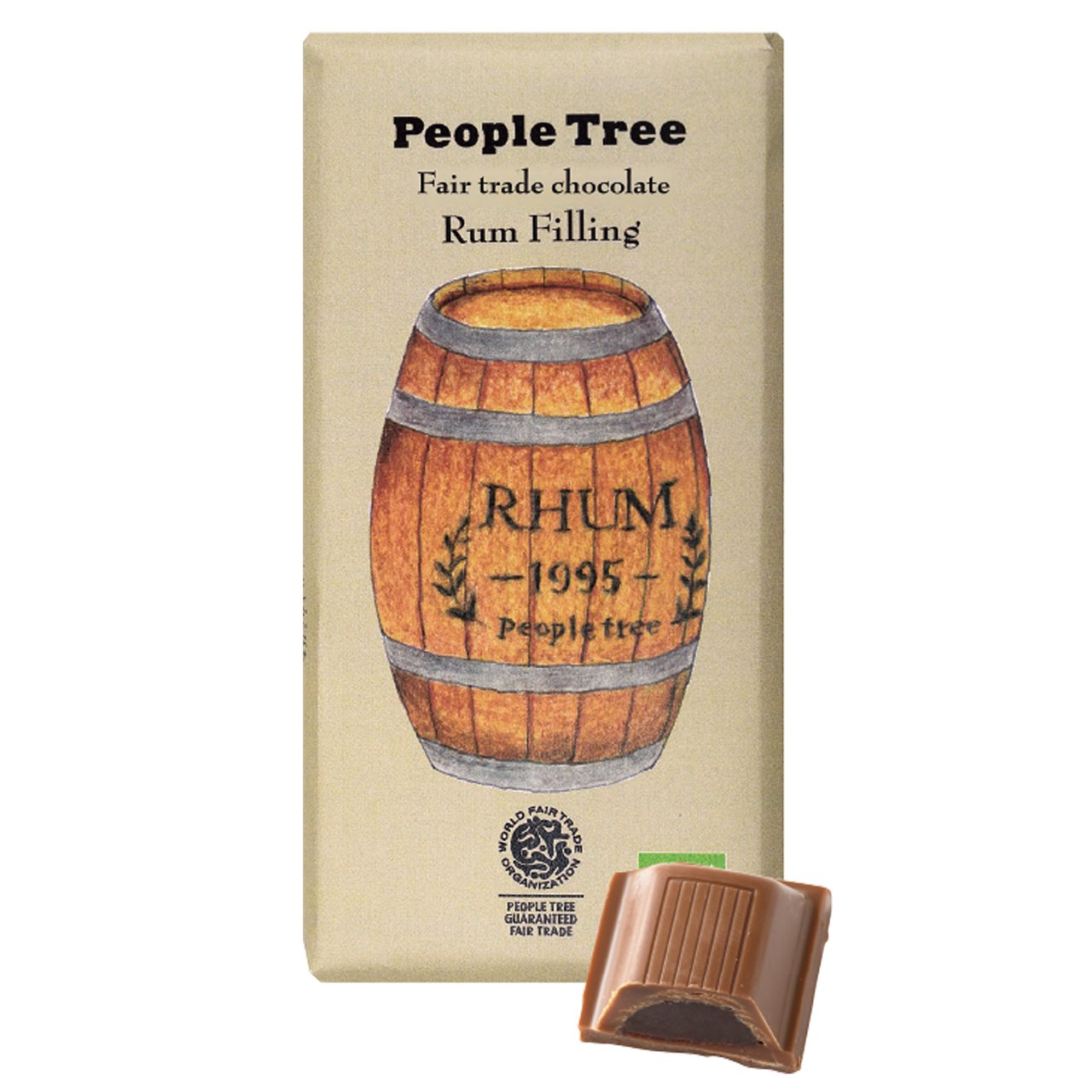 【People Tree】フェアトレード・フィリングチョコレート ラム