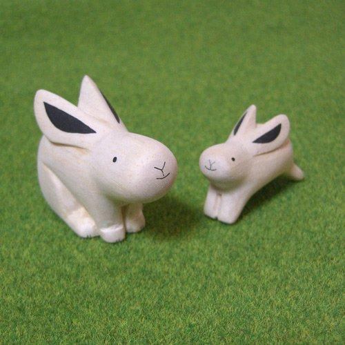ぽれぽれ親子セット ウサギ