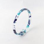 麻ひもブレスレット・ブルー系<Earth>【ピープル・ツリー/People Tree】