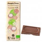 フェアトレード・板チョコレート オーガニック ココナッツミルク【People Tree/ピープルツリー】