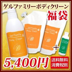 【2015福袋】ゲルファミリーボディクリーンセット