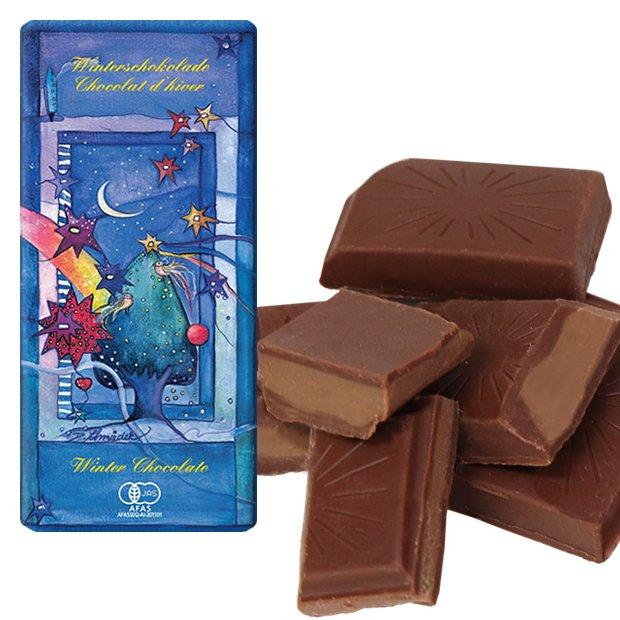 フェアトレード ウインターチョコレート 100g【地球食/第3世界ショップ】※2017年より値下げ