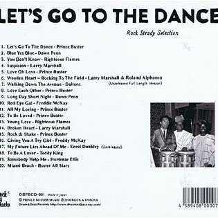let s go to the dance prince buster more axe records ska