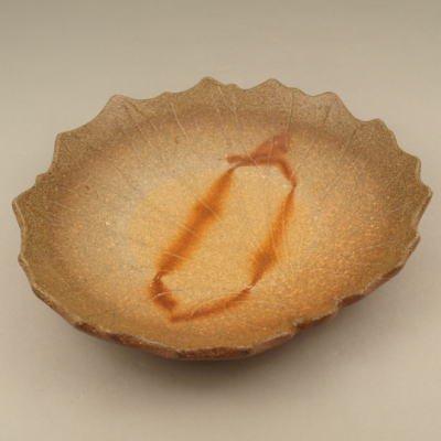備前焼 石蕗皿(高台付)