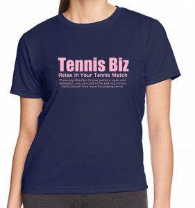 <img class='new_mark_img1' src='//img.shop-pro.jp/img/new/icons25.gif' style='border:none;display:inline;margin:0px;padding:0px;width:auto;' />Tennis Biz ドライTシャツ/ネイビー×ピンク