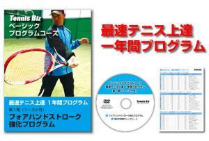 最速テニス上達一年間プログラム(※2月〜5月分)