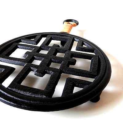 南部鉄鍋敷
