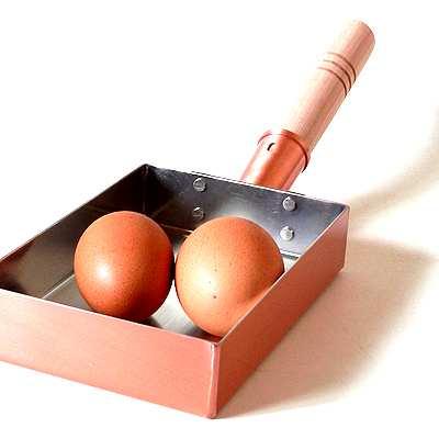 銅製玉子焼器