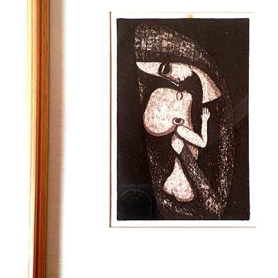 池田修三さんの木版画