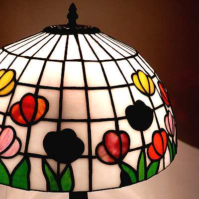 Vintage Stained glassTable lamp