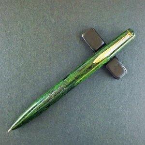 エボナイト製ボールペン 軸色:薫風(くんぷう/緑)
