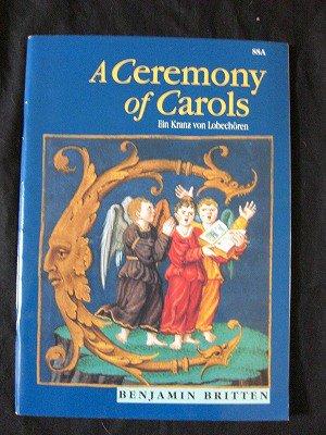 ブリテン Benjamin Britten / A Ceremony of Carols for treble voice and Harp(or piano)