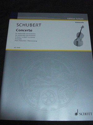 シューベルト  Franz Schubert  /  Concerto in A minor for Cello and Piano(ピアノ編曲版)