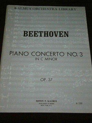 ベートーヴェン Ludwig van Beethoven / Concerto for Piano No. 3 in C minor, Op. 37 総譜