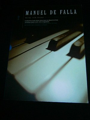 ファリャ Manuel de Falla / Music for Piano - Volume 2