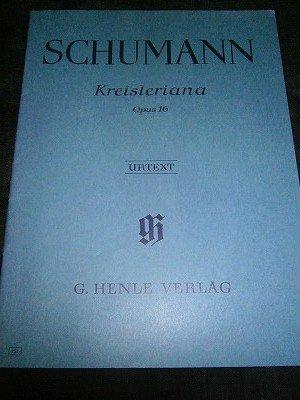 シューマン Robert Schumann /  Kreisleriana op. 16 for piano solo (旧版)