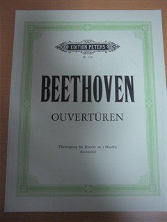 ベートーヴェン Ludwig van Beethoven / Overtures for piano solo(Arranged by Kleinmichel)