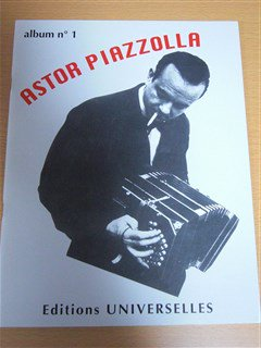 ピアソラ Astor Piazzolla  /  Album No.1  for  piano or accordion