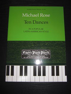 ローズ Michael Rose / Ten Dances for piano solo