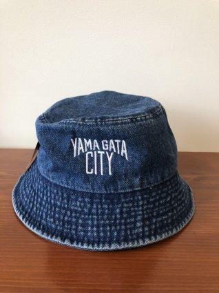 YAMAGATA CITY バケットハットデニム