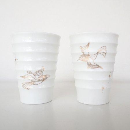 ミニカップセット : シアワセの鳥