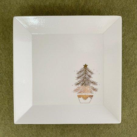 クリスマス -tree- 角プレート