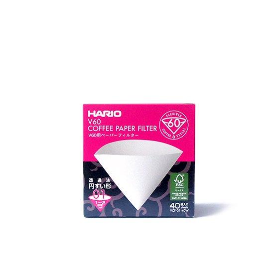 Hario V60 Coffee Paper Filter 01 40枚