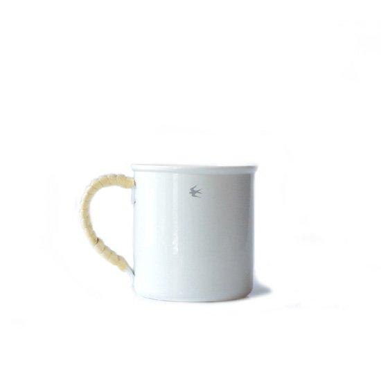 Glocal Standard Products Tsubame Rattan Mug M Size / White