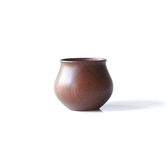 安清式 Wood Cup / Brown