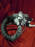 <img class='new_mark_img1' src='https://img.shop-pro.jp/img/new/icons25.gif' style='border:none;display:inline;margin:0px;padding:0px;width:auto;' />☆American air force currently used Fighter pilot oxygen mask MBU-12/P,(SHORT)☆
