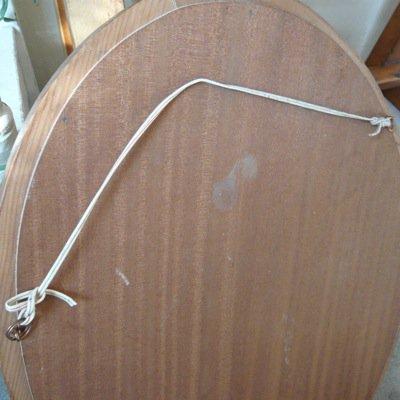 イギリス 古いミラー(オーバル) 4