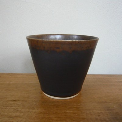 福岡彩子 mini Cup (brown)