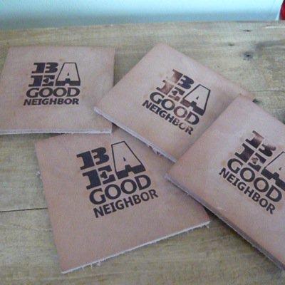 Be A Good Neighbor コースター 4