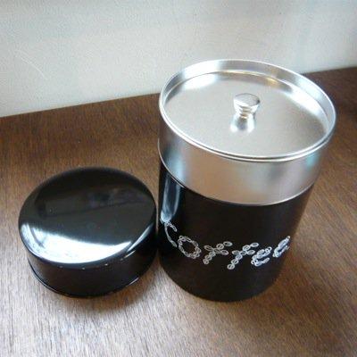松尾ミユキ コーヒー缶 COFFEE(L)ダークブラウン 2