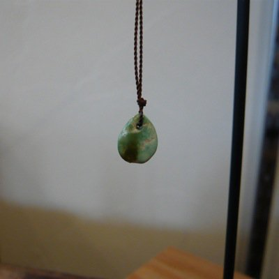 Margaret Solow  Turquoise Drop Necklace (S)-A