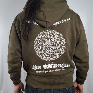 アガベ '笹の雪' - デザイン パーカー