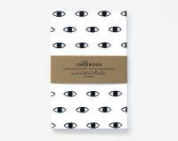 【SALE 50%オフ】WORTHWHILE PAPER | EYE PATTERN NOTEBOOKS SET | ノートブック