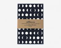 【SALE 50%オフ】WORTHWHILE PAPER | MOON PATTERN NOTEBOOKS SET | ノートブック