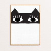 SEVENTY TREE | CAT BANDIT PRINT | アートプリント/ポスター (30x40cm)の商品画像