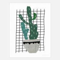 SEVENTY TREE | CACTUS | アートプリント/ポスター (50x70cm)の商品画像