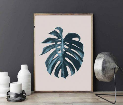 LOVELY POSTERS | MONSTERA LEAF | A3 アートプリント/ポスター
