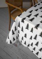 FINE LITTLE DAY   GRAN TABLECLOTH - BLACK (half linen) (70600-5)   テーブルクロス【北欧 リネン キッチン インテリア シンプル】の商品画像